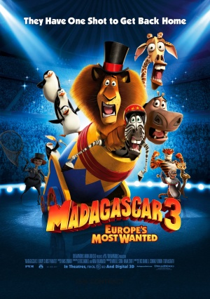 Madagascar 3: Europe's Most Wanted / Μαδαγασκάρη 3 (2012)