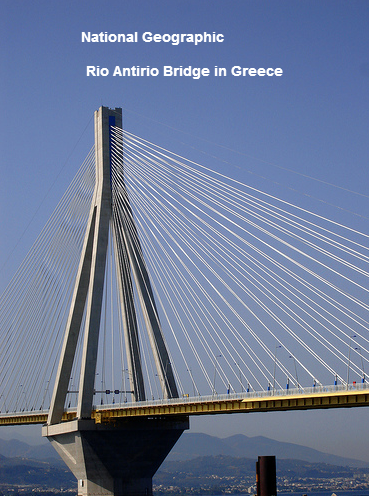 National Geographic Rio Antirio Bridge in Greece