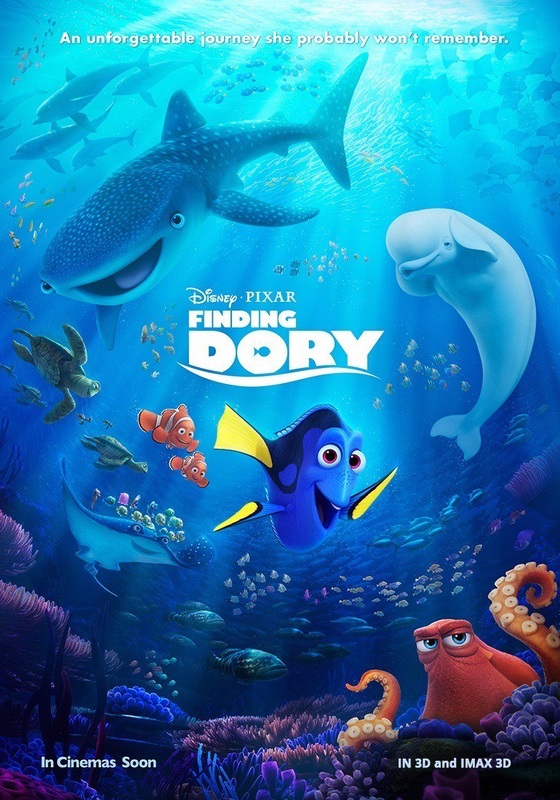 Finding Dory / Ψάχνοντας την Ντόρι (2016)