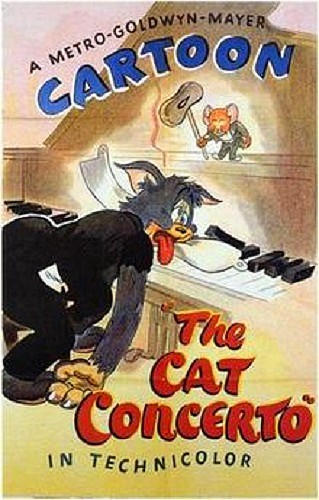 The Cat Concerto (1947) Short