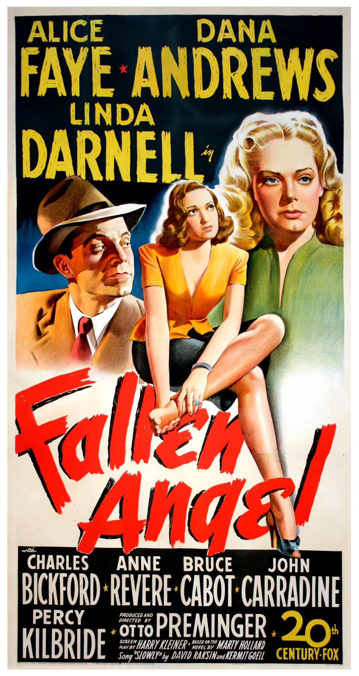 Αποτέλεσμα εικόνας για Fallen Angel (1945)