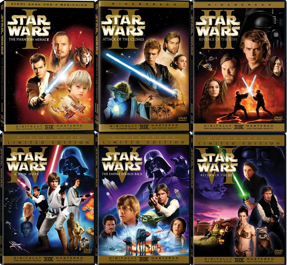 Star Wars Collection / Ο Πόλεμος των Άστρων (1977-2015)