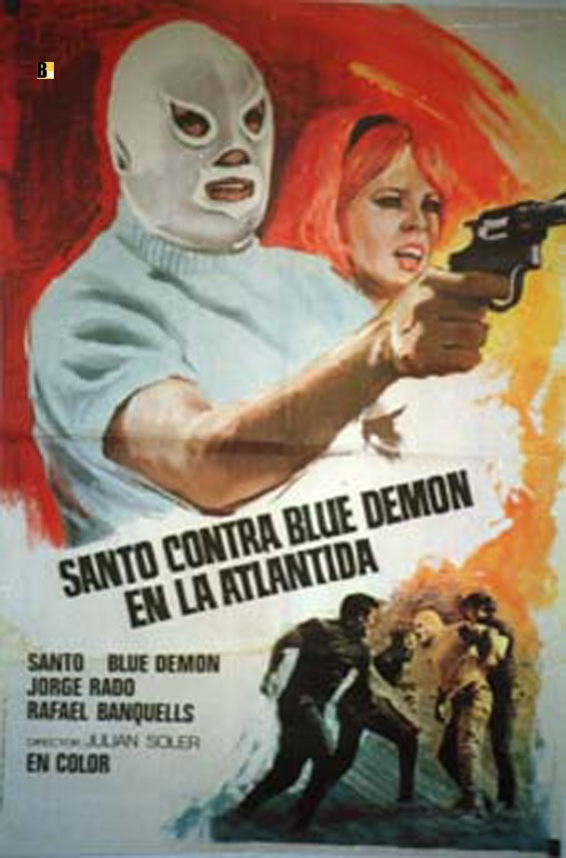 Santo vs. Blue Demon in Atlantis - Santo contra Blue Demon en la Atlantida  (1970)