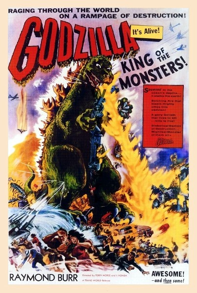 Godzilla, King Of The Monsters (1956)