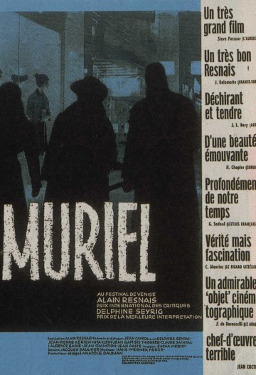 Muriel, or The Time of Return (1963)