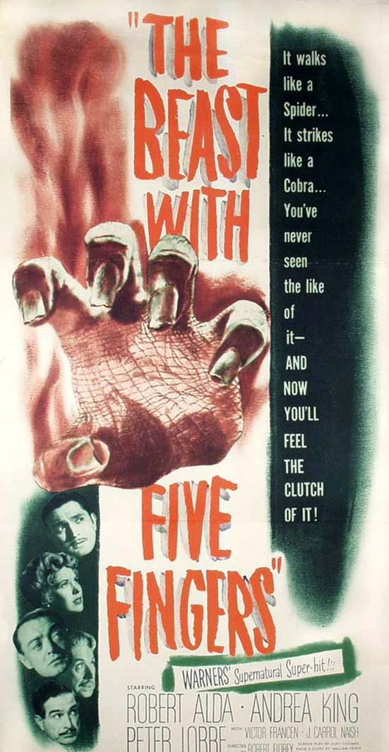 The Beast with Five Fingers (1946)