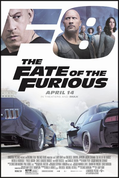 The Fate of the Furious / Μαχητές των δρόμων 8 (2017)