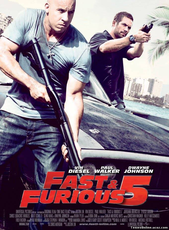 Fast And Furious 5 Rio Heist (2011)
