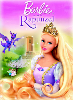 H Barbie Ραπουνζελ / Barbie as Rapunzel (2002)