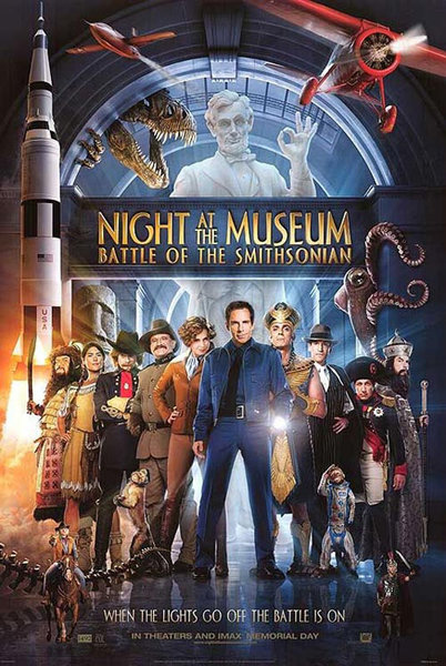 Night at the Museum 2: Battle of the Smithsonian / Μια Νύχτα στο Μουσείο 2 (2008)