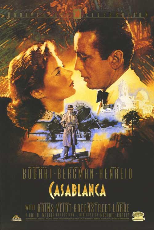 Кадры из фильма «Касабланка» / 1942