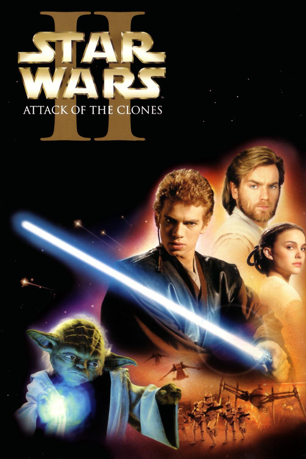 Star Wars: Episode II- Attack of the Clones / Star Wars: Επεισόδιο ΙI- Η Επίθεση των Κλώνων (2002)