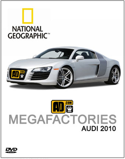 National Geographic Megafactories: Audi R8 (2009)