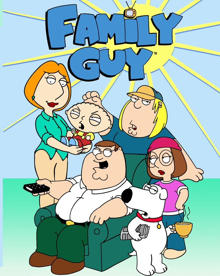 Family Guy (1999–2011) 1,2,3,4,5,6,7,8,9,10,11,12 Seasons