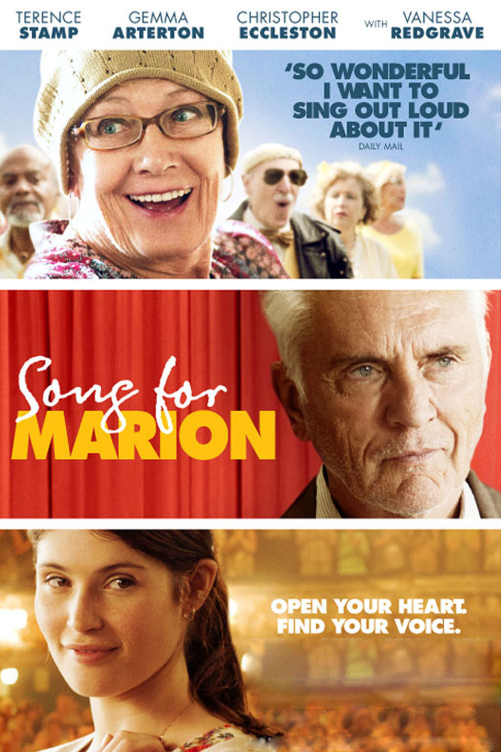 Song for Marion / Unfinished Song (2012)