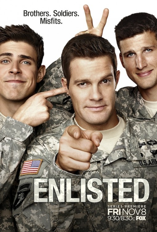 Enlisted (2014) TV Series