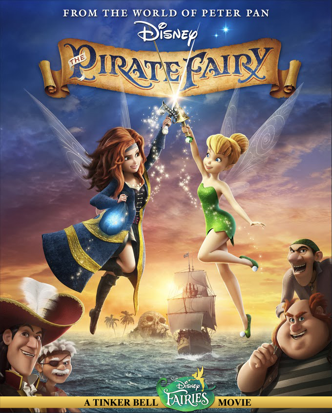 The Pirate Fairy / Η Τίνκερμπελ και οι Πειρατές (2014)