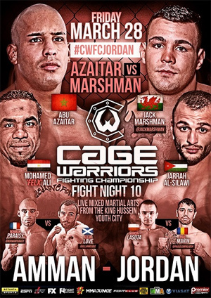 Cage Warriors Fight Night 10 (2014)