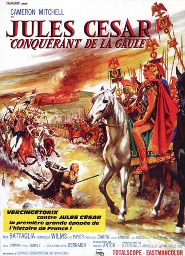 Caesar the Conqueror / Giulio Cesare il conquistatore delle Gallie (1962)